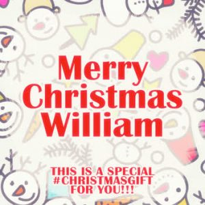 Various Artists - Merry Christmas William - A Special #ChristmasGift For you